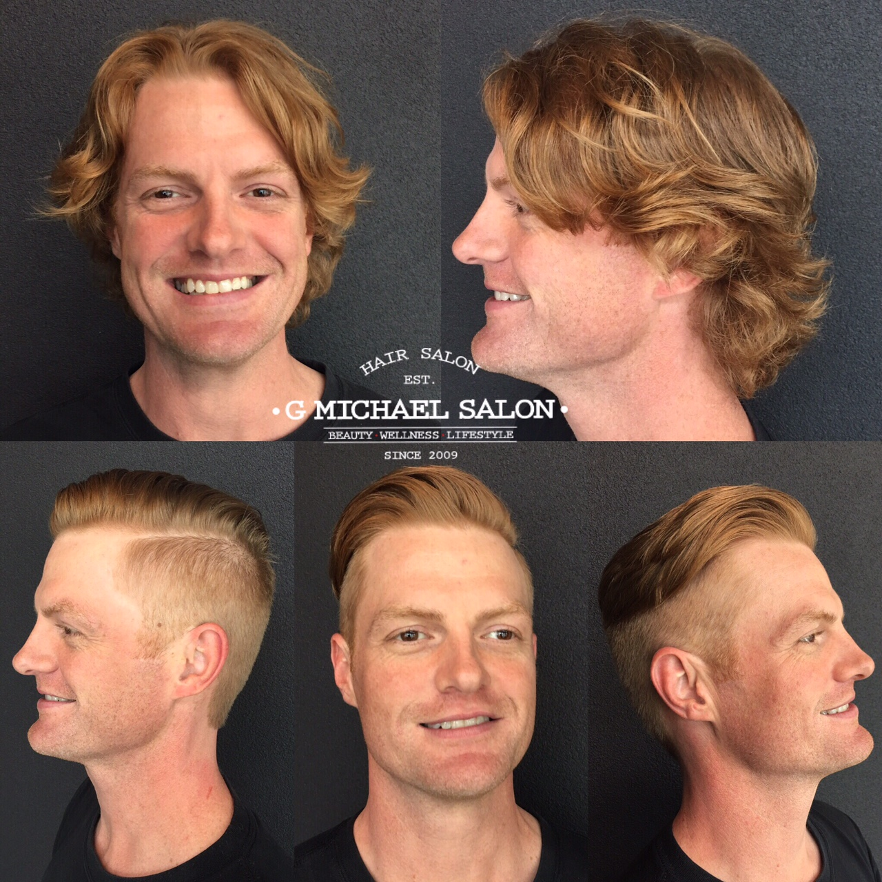 Mens Long Hair To Short Hair Transformations By Indys Top Salon G